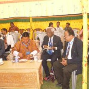 Bhutan Conference with Dr.S.H. Pawar Vice Chancellor