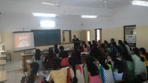 Student unit at Sharadabai Pawar college, Baramati