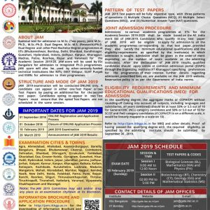 Joint Admission For M.Sc.