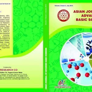 Asian Journal of Advanced Basic Sciences